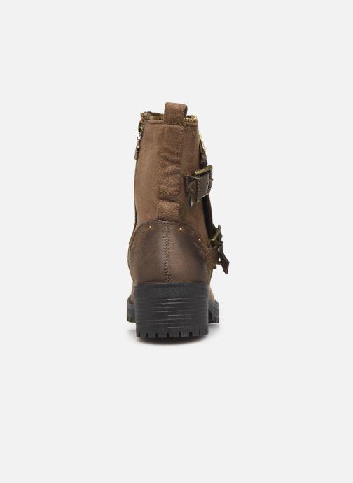 Bottines et boots Chattawak TINA Marron vue droite