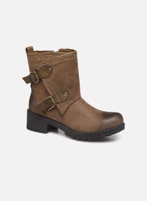 Bottines et boots Chattawak TINA Marron vue détail/paire