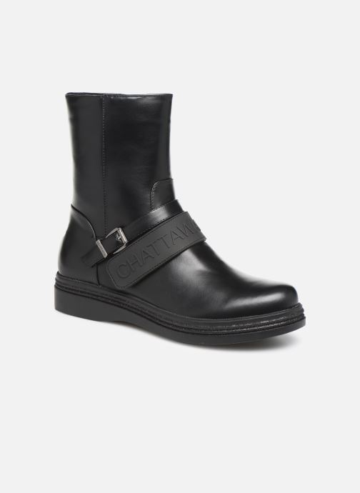 Bottines et boots Chattawak VERONIQUE Noir vue détail/paire