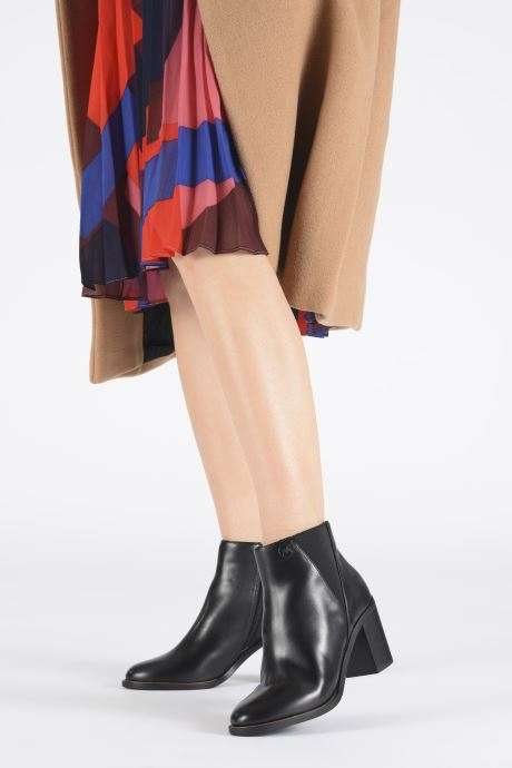 Bottines et boots Chattawak WENDY Noir vue bas / vue portée sac