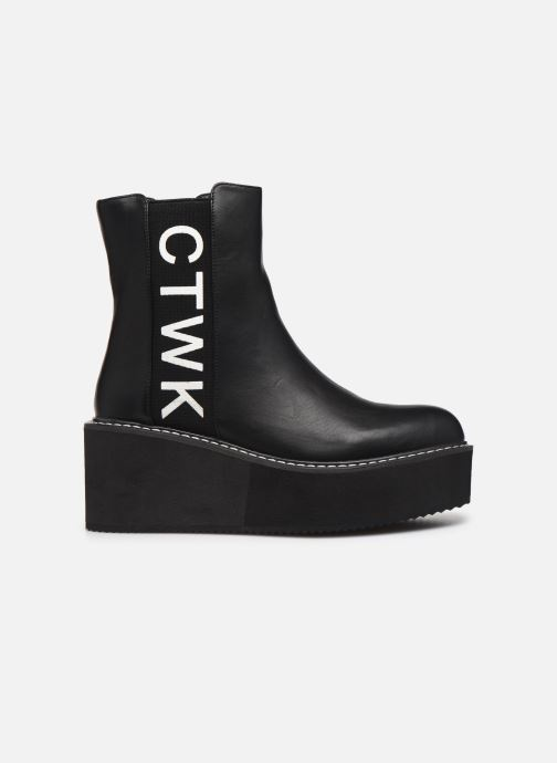 Bottines et boots Chattawak YUKO Noir vue derrière