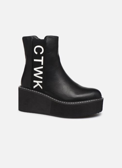 Bottines et boots Chattawak YUKO Noir vue détail/paire