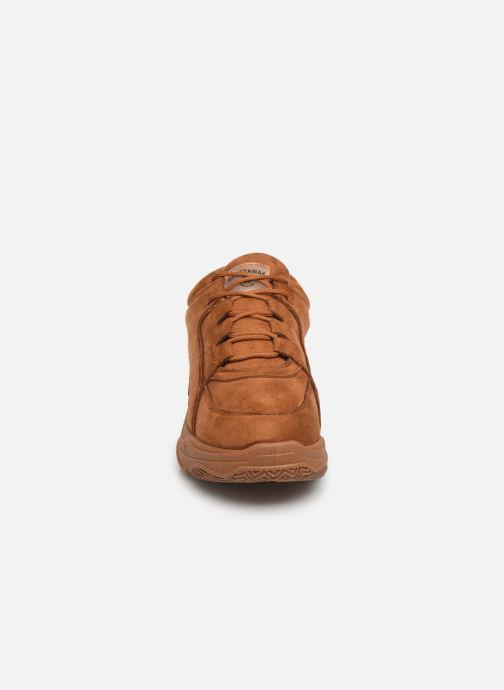Baskets Chattawak LEA Marron vue portées chaussures