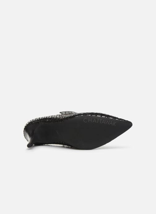 Bottines et boots Chattawak BEATRICE Noir vue haut