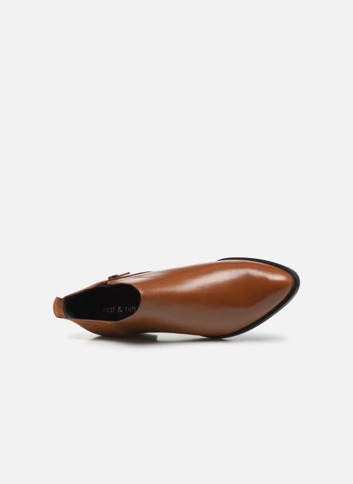 Stiefeletten & Boots Nat & Nin TRINITI braun ansicht von links