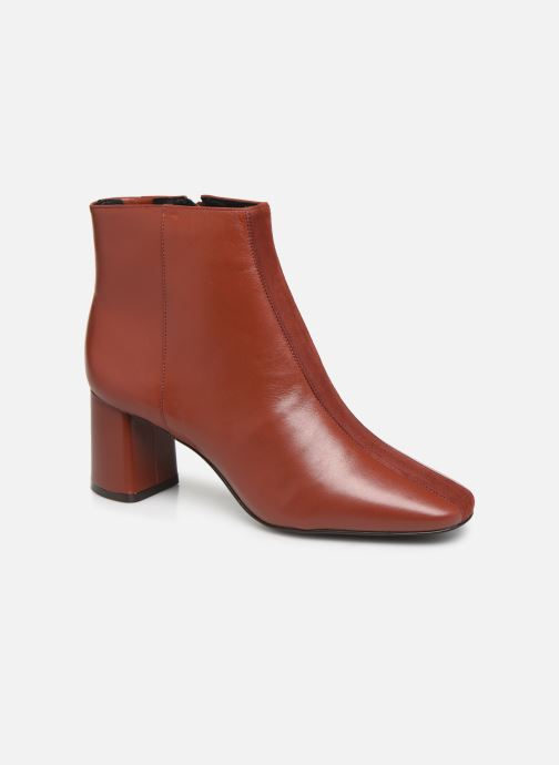Bottines et boots Nat & Nin RIVER Orange vue détail/paire
