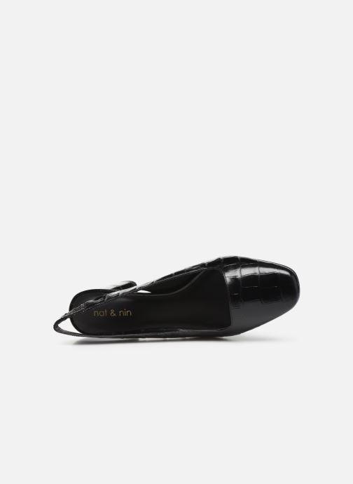 Zapatos de tacón Nat & Nin PEARL Negro vista lateral izquierda