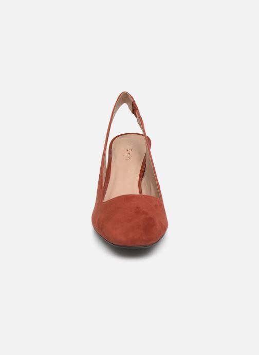 Zapatos de tacón Nat & Nin PEARL Naranja vista del modelo