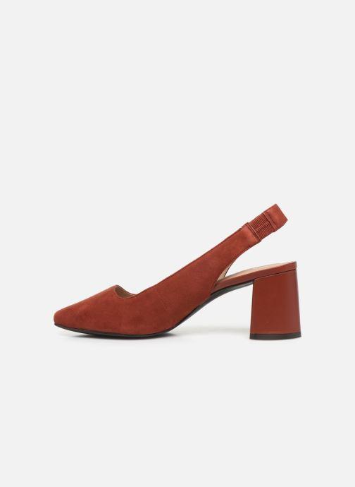 Zapatos de tacón Nat & Nin PEARL Naranja vista de frente