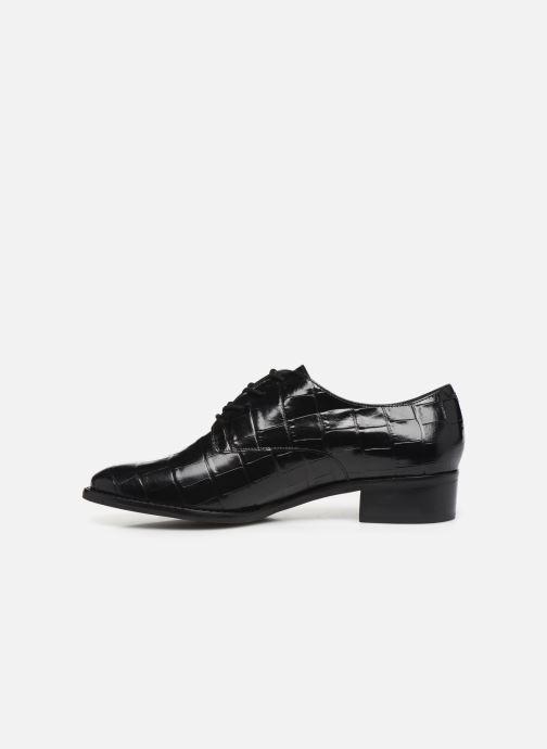 Zapatos con cordones Nat & Nin MYAKA Negro vista de frente
