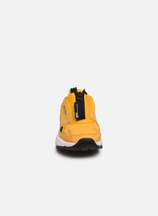 adidas originals Falcon Zip W (Geel) Sneakers chez Sarenza
