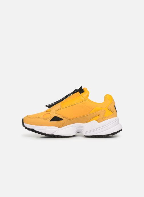 Sneakers adidas originals Falcon Zip W Gul se forfra