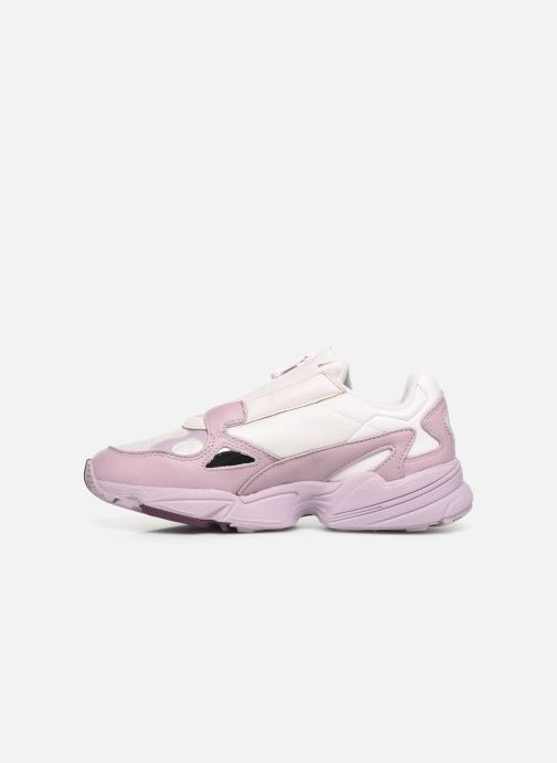 Baskets adidas originals Falcon Zip W Violet vue face