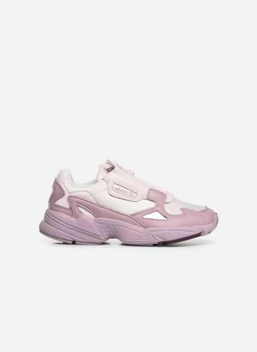 Baskets adidas originals Falcon Zip W Violet vue derrière