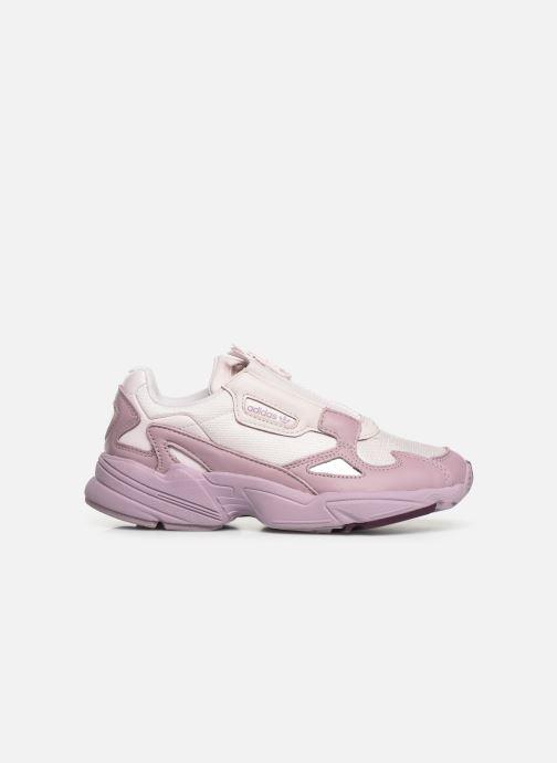Baskets adidas originals Falcon Zip W Violet vue derrière
