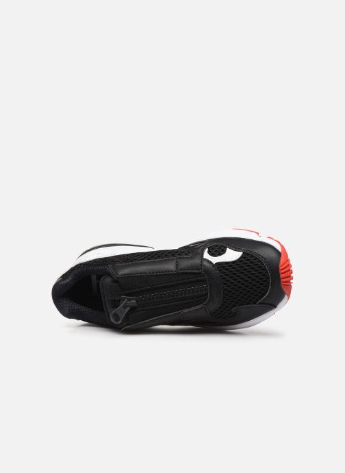 Sneaker adidas originals Falcon Zip W schwarz ansicht von links