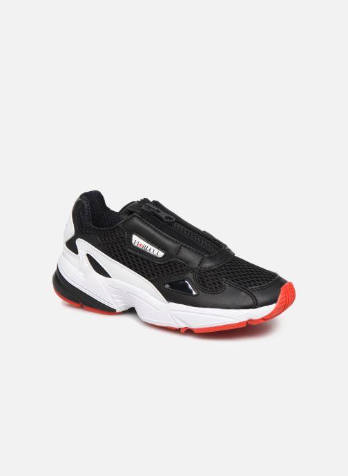 Sneaker adidas originals Falcon Zip W schwarz detaillierte ansicht/modell