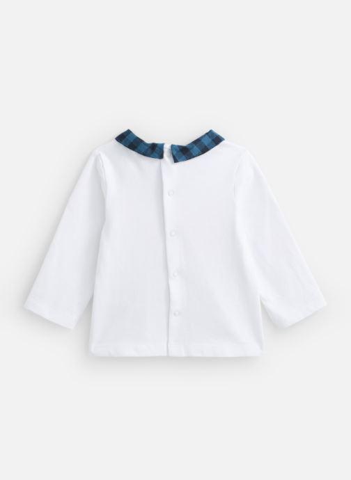 Vêtements Cyrillus Divin Blanc vue bas / vue portée sac