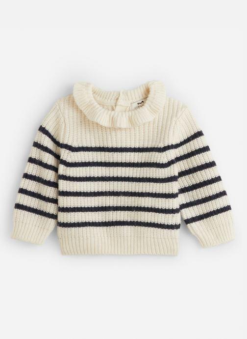 Vêtements Cyrillus Diva Blanc vue détail/paire