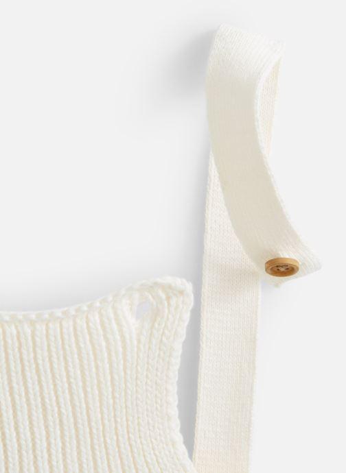 Vêtements Cyrillus Daba Blanc vue portées chaussures