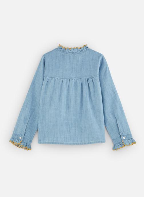 Vêtements Cyrillus Charlotte Bleu vue bas / vue portée sac
