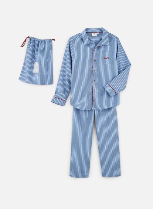 Vêtements Cyrillus Bradley Bleu vue détail/paire
