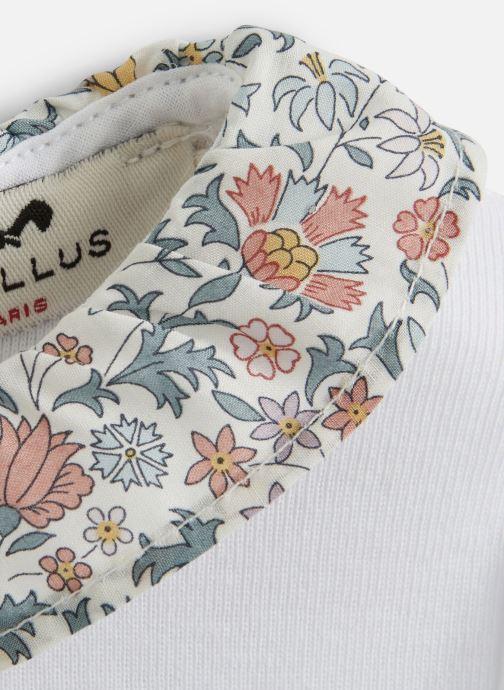 Vêtements Cyrillus Dimus Blanc vue portées chaussures