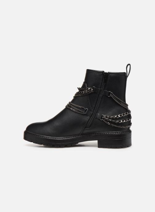 Bottines et boots ONLY 15184260 ONLBAD CHAIN WRAP BOOTIE Noir vue face