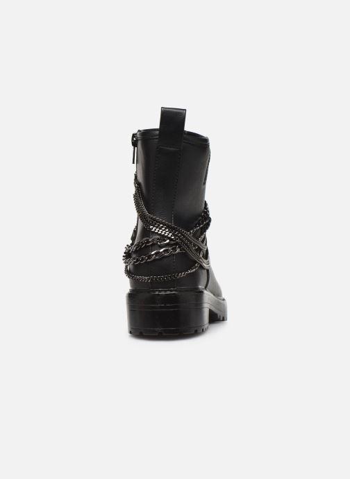 Bottines et boots ONLY 15184260 ONLBAD CHAIN WRAP BOOTIE Noir vue droite