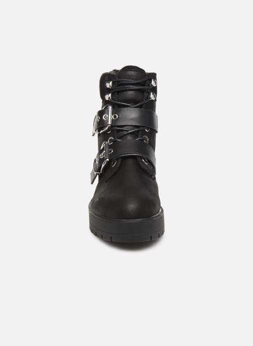 Bottines et boots ONLY 15184280 ONLBRANKA BUCKLE PU  WINTER BOOTIE Noir vue portées chaussures