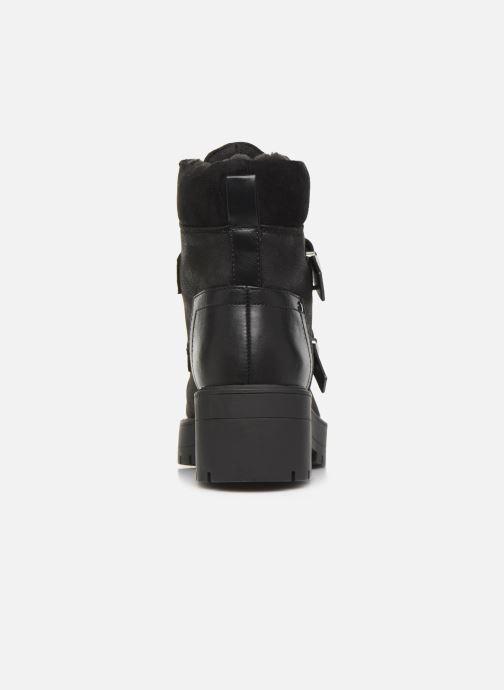 Bottines et boots ONLY 15184280 ONLBRANKA BUCKLE PU  WINTER BOOTIE Noir vue droite