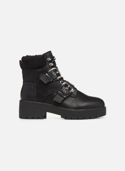 Bottines et boots ONLY 15184280 ONLBRANKA BUCKLE PU  WINTER BOOTIE Noir vue derrière