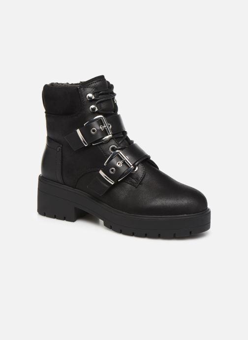 Bottines et boots ONLY 15184280 ONLBRANKA BUCKLE PU  WINTER BOOTIE Noir vue détail/paire