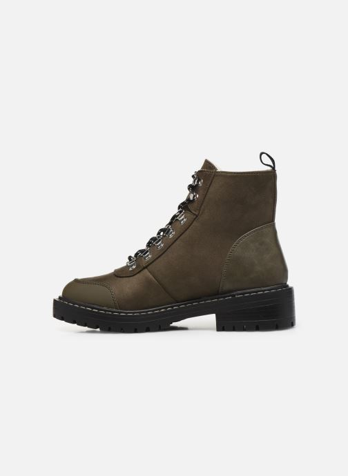 Bottines et boots ONLY ONLBOLD LACE UP  WINTER  BOOTIE Vert vue face