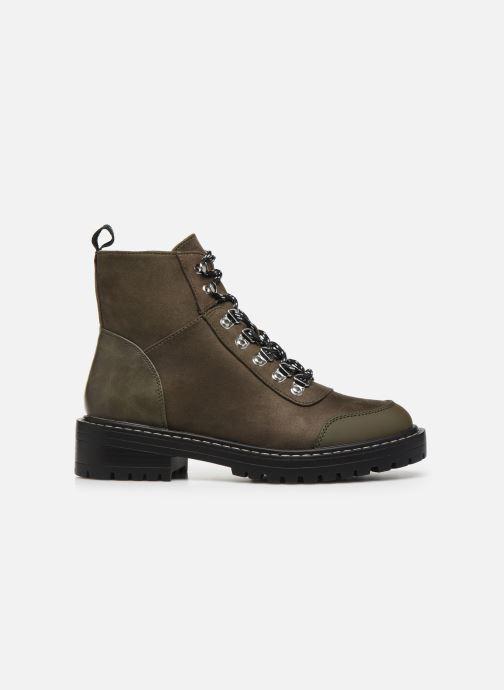 Bottines et boots ONLY ONLBOLD LACE UP  WINTER  BOOTIE Vert vue derrière