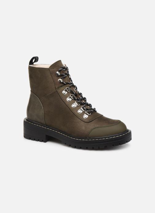 Bottines et boots ONLY ONLBOLD LACE UP  WINTER  BOOTIE Vert vue détail/paire