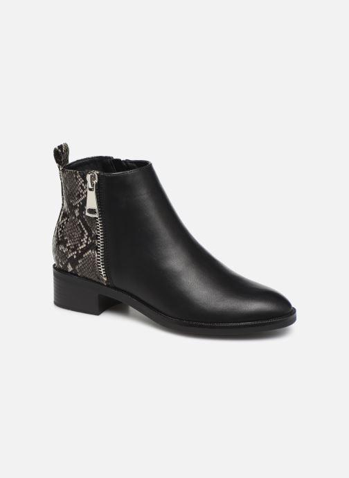 Bottines et boots ONLY ONLBRIGHT  STRUCTURE  PU BOOTIE 15184292 Noir vue détail/paire