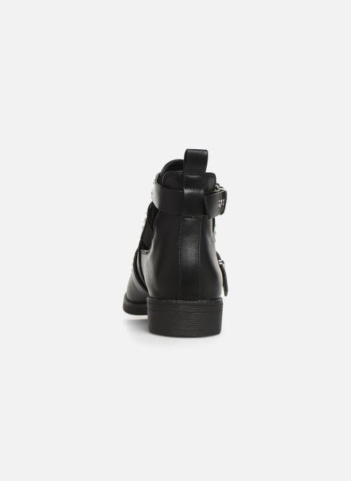 Boots en enkellaarsjes ONLY ONLBIBI  STUD  PU  BOOTIE 15184246 Zwart rechts