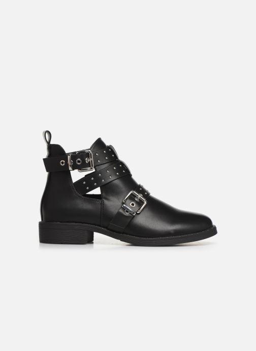 Boots en enkellaarsjes ONLY ONLBIBI  STUD  PU  BOOTIE 15184246 Zwart achterkant