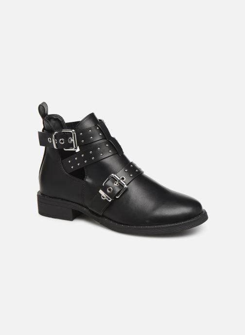Bottines et boots ONLY ONLBIBI  STUD  PU  BOOTIE 15184246 Noir vue détail/paire
