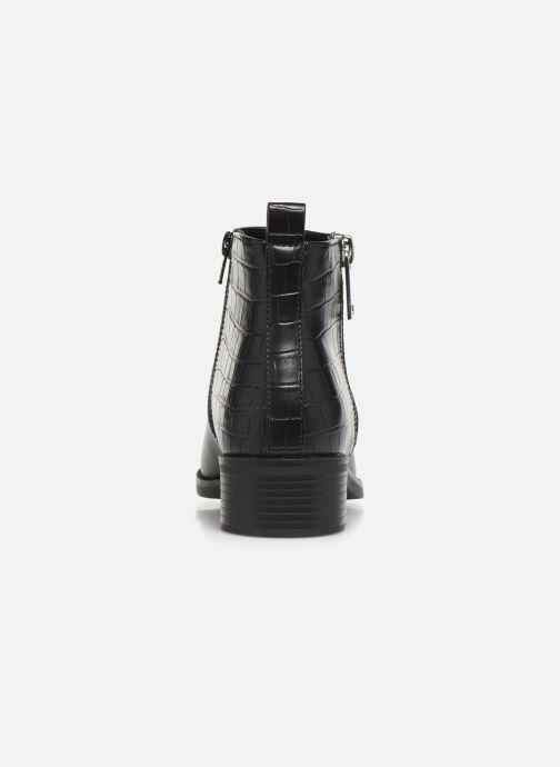 Bottines et boots ONLY ONLBRIGHT  STRUCTURE  PU BOOTIE  15184292 Noir vue droite