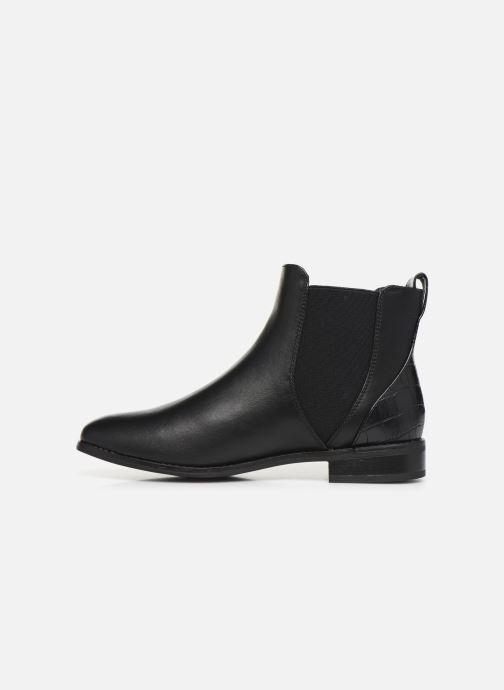 Bottines et boots ONLY ONLBOBBY  ELASTIC BUCKLE  BOOTIE Noir vue face