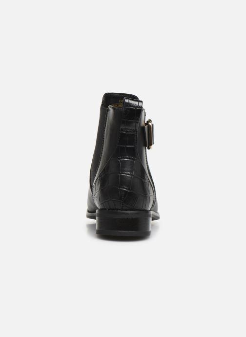 Bottines et boots ONLY ONLBOBBY  ELASTIC BUCKLE  BOOTIE Noir vue droite