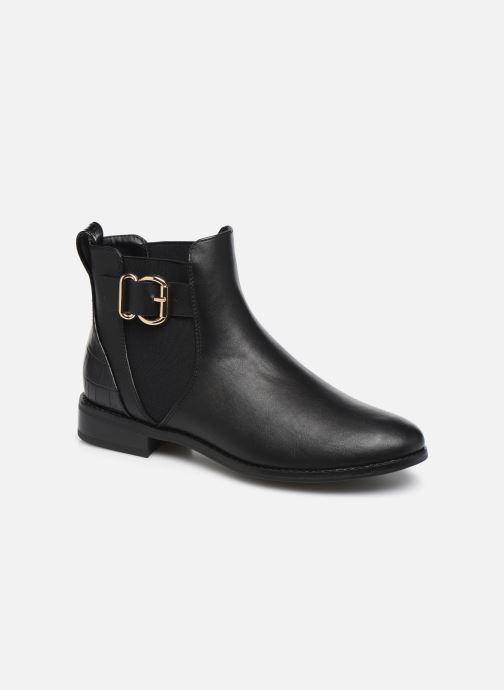 Bottines et boots ONLY ONLBOBBY  ELASTIC BUCKLE  BOOTIE Noir vue détail/paire