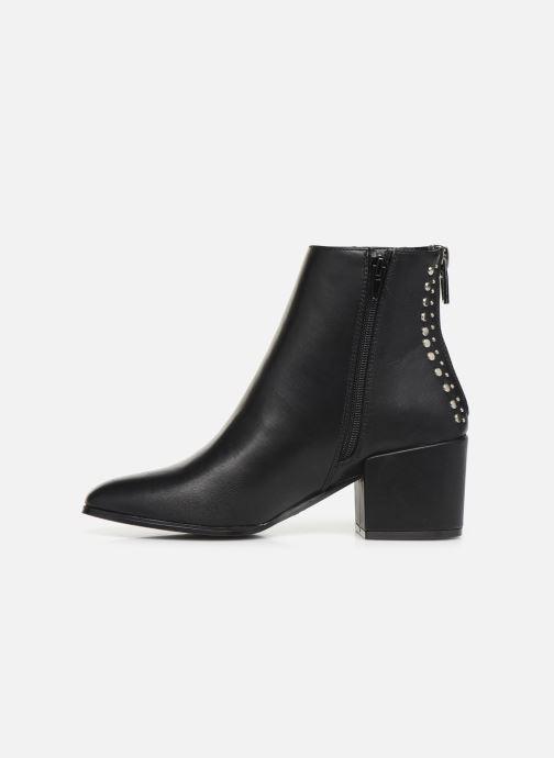 Boots en enkellaarsjes ONLY ONLBELEN STUD  PU BOOTIE 15184243 Zwart voorkant