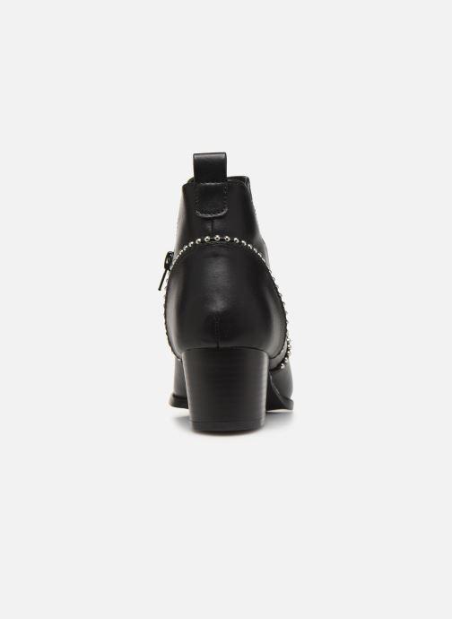 Bottines et boots ONLY ONLTOBIO CURVE STUD  PU BOOTIE 14184488 Noir vue droite