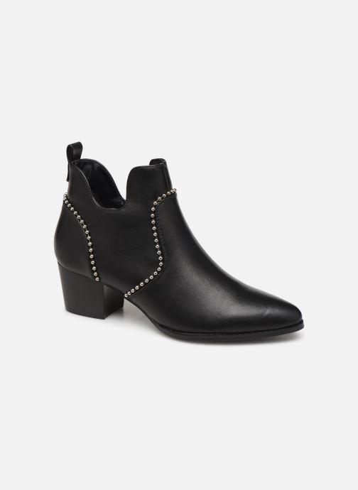 Bottines et boots ONLY ONLTOBIO CURVE STUD  PU BOOTIE 14184488 Noir vue détail/paire