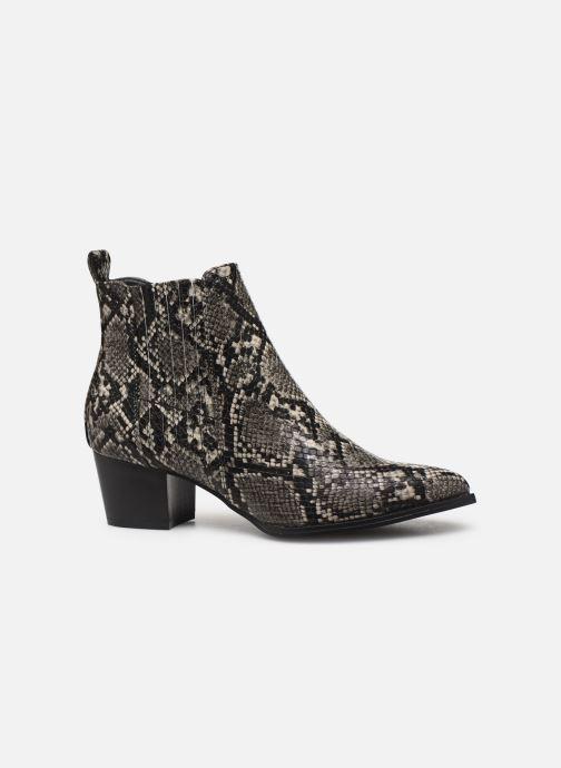 Bottines et boots ONLY ONLTOBIO SNAKE  PU BOOTIE 15184286 Gris vue derrière