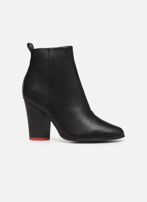 Bottines et boots ONLY ONLBLUE RED HEELED PU BOOTIE 15184261 Noir vue derrière