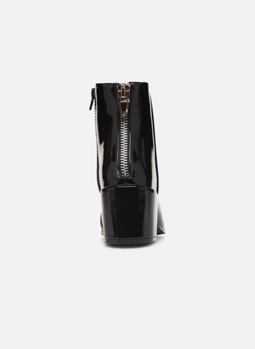 Bottines et boots ONLY ONLBELEN ZIP  PATENT  BOOTIE 15184244 Noir vue droite